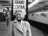 Marilyn Monroe, Grand Central Poster Print