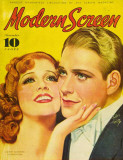 MacDonald, Jeanette - Modern Screen Magazine Cover 1930's