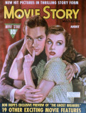 Goddard, Paulette - Movie Story Magazine Cover 1940's
