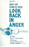 Look Back In Anger - Broadway Poster , 1957