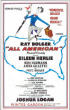 All American - Broadway Poster , 1962