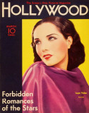 Lupe Velez - Hollywood Magazine Cover 1940's