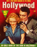 Bette Davis - Hollywood Screen Life Magazine Cover 1930's