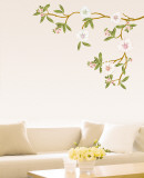 Blossoming Flowers Wall Decal