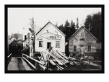 Home of Chief Ko-Teth Sha-Doc, Ketchikan, Alaska Wall Decal