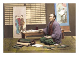 Portrait of a Japanese Artist