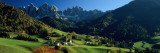 Buy Buildings on a Landscape, Dolomites, Funes Valley, le Odle, Santa Maddalena, Tyrol, Italy at AllPosters.com
