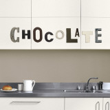 Chocolate (Water Resistant Decal)