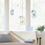Bird cages  (Window Decal)