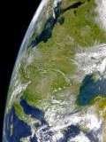 Eastern Europe is Mostly Cloud-Free