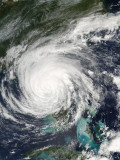 Hurricane Jeanne Over Florida