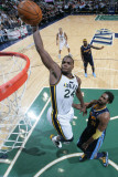 Denver Nuggets v Utah Jazz, Salt Lake City, UT - March 3: Paul Millsap and Nene