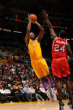 Atlanta Hawks v Los Angeles Lakers, Los Angeles, CA - February 22: Lamar Odom and Marvin Williams