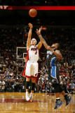 Orlando Magic v Miami Heat, Miami, FL - March 3: Mike Bibby and Jameer Nelson