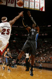 Orlando Magic v Miami Heat, Miami, FL - March 3: Dwight Howard and Erick Dampier