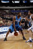 Orlando Magic v Dallas Mavericks, Dallas, TX - January 8: DeShawn Stevenson and Gilbert Arenas