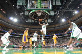 Los Angeles Lakers v Boston Celtics, Boston, MA - February 10: Ray Allen