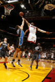 Orlando Magic v Miami Heat, Miami, FL - March 3: Dwyane Wade and Ryan Anderson