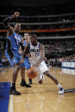 Orlando Magic v Dallas Mavericks, Dallas, TX - January 8: Dominique Jones and Dwight Howard