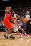 Philadelphia 76ers v Detroit Pistons, Auburn Hills, MI - January 8: Ben Gordon and Jodie Meeks