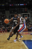 Minnesota Timberwolves v Detroit Pistons, Auburn Hills, MI - March 2: Jonny Flynn and Will Bynum