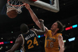 Utah Jazz v Los Angeles Lakers, Los Angeles, CA - January 25: Pau Gasol and Paul Millsap