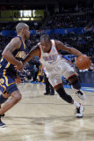 Indiana Pacers v Oklahoma City Thunder, Oklahoma City, OK - March 2 : Kevin Durant and Dahntay Jone