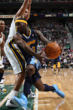Denver Nuggets v Utah Jazz, Salt Lake City, UT - March 3: Ty Lawson and Devin Harris