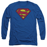 Long Sleeve: Superman-Classic Logo