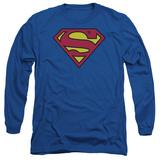 Long Sleeve: Superman-Classic Logo