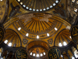 Interior of the Church of the Divine Wisdom at Aya Sofya