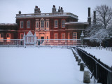 Ranger's House in Snow, Greenwich Park