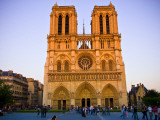 Notre Dame Cathedral at Dusk
