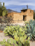 Adobe Mission, Degrazia Gallery in the Sun