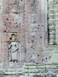 Devata Carving at Preah Khan