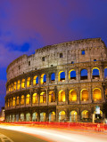 Buy Colosseum and Traffic on Via Del Fori Imperiali at AllPosters.com