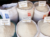 Rice for Sale at Market
