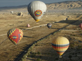 Hot-Air Balloons Ride over Cappadocia