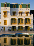 Hotel Les Mimosas Reflected in Swimming Pool