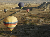 Hot-Air Balloon Rides over Cappadocia