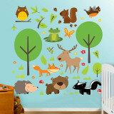 Wildlife Collection Wall Decal