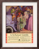 US Royal Cords, Magazine Advertisement, USA, 1924