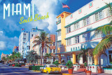 South Beach, Miami Poster