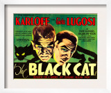 The Black Cat, Boris Karloff, Bela Lugosi, 1934