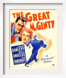 The Great Mcginty (Aka Down with Mcginty), Brian Donlevy, Muriel Angelus on Window Card, 1940