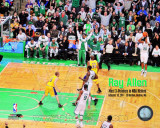 Ray Allen Most 3 pointers in NBA History with Overlay