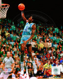 Michael Jordan University of North Carolina Tar Heels 1981 Action