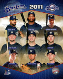 Milwaukee Brewers 2011 Team Composite