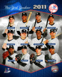 New York Yankees 2011 Team Composite