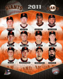 San Francisco Giants 2011 Team Composite